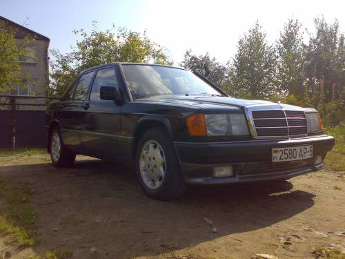 Мой Mercedes-Benz W201