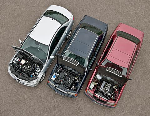 моторы Mercedes-benz 190D
