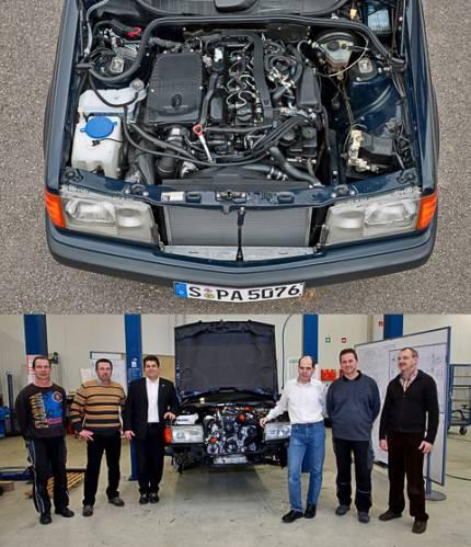 Мотор C 250 CDI BlueEfficiency на 190D