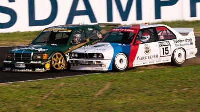 Противостояние BMW E30 M3's и Mercedes--Benz 190 E 2.3-16's